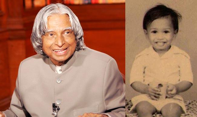 Abdul kalam childhood pic