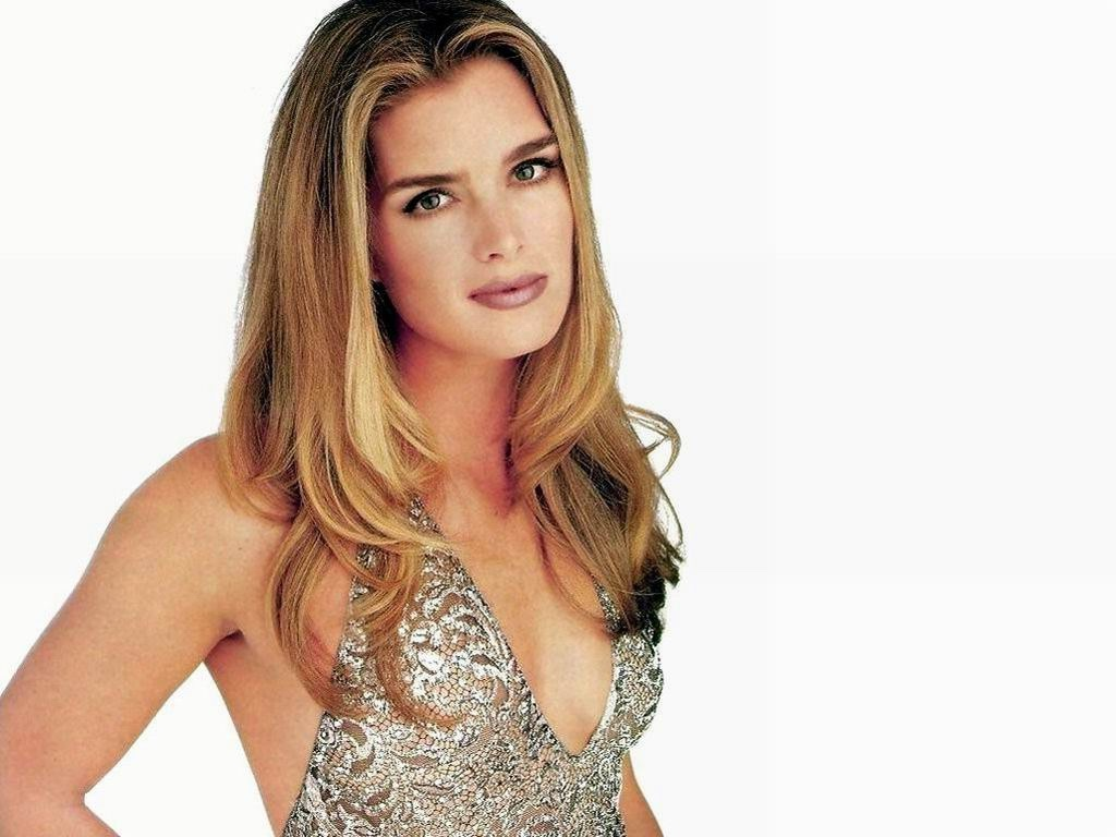 Actress brooke shields wallpaper