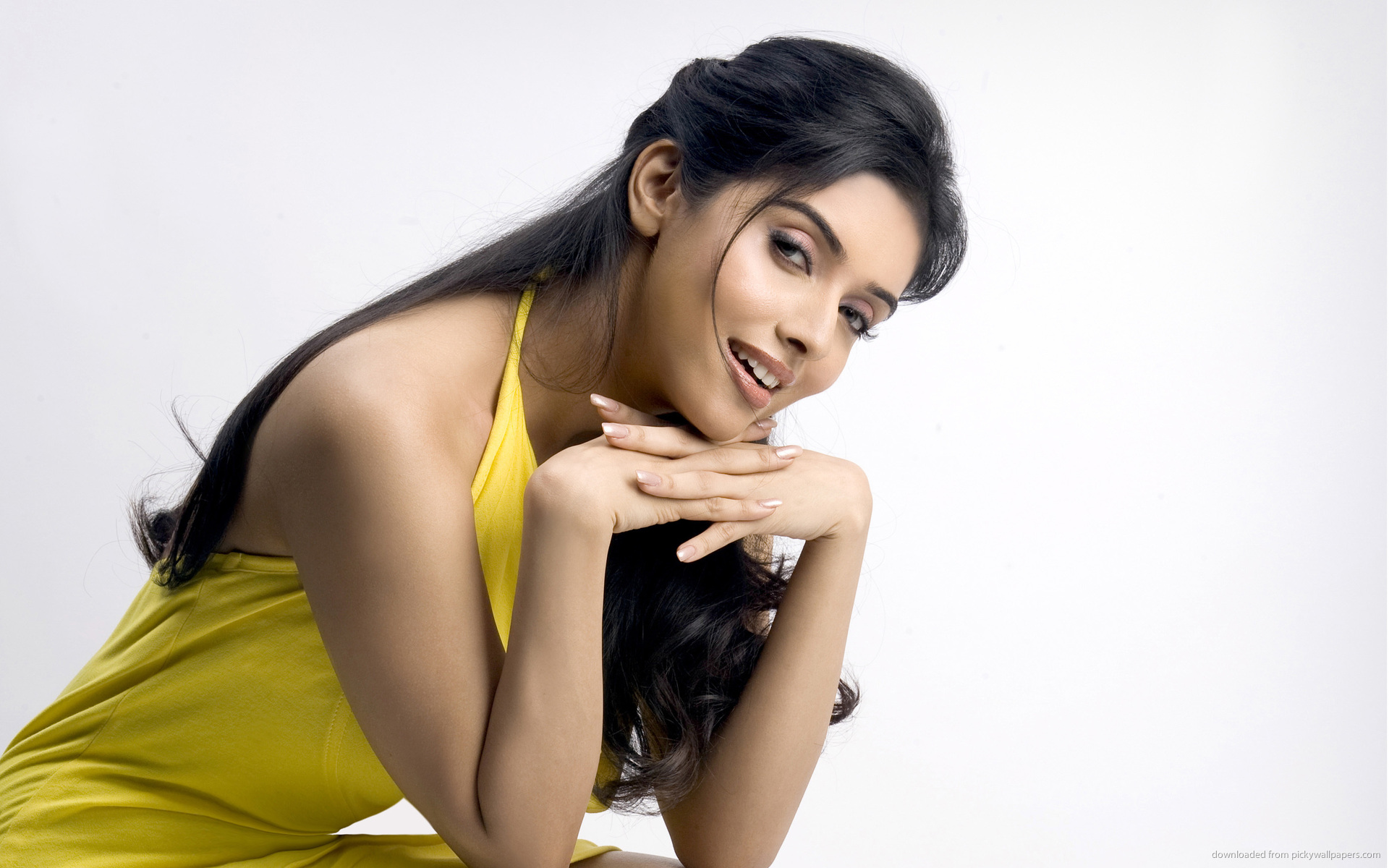 Asin yellow color dress picture