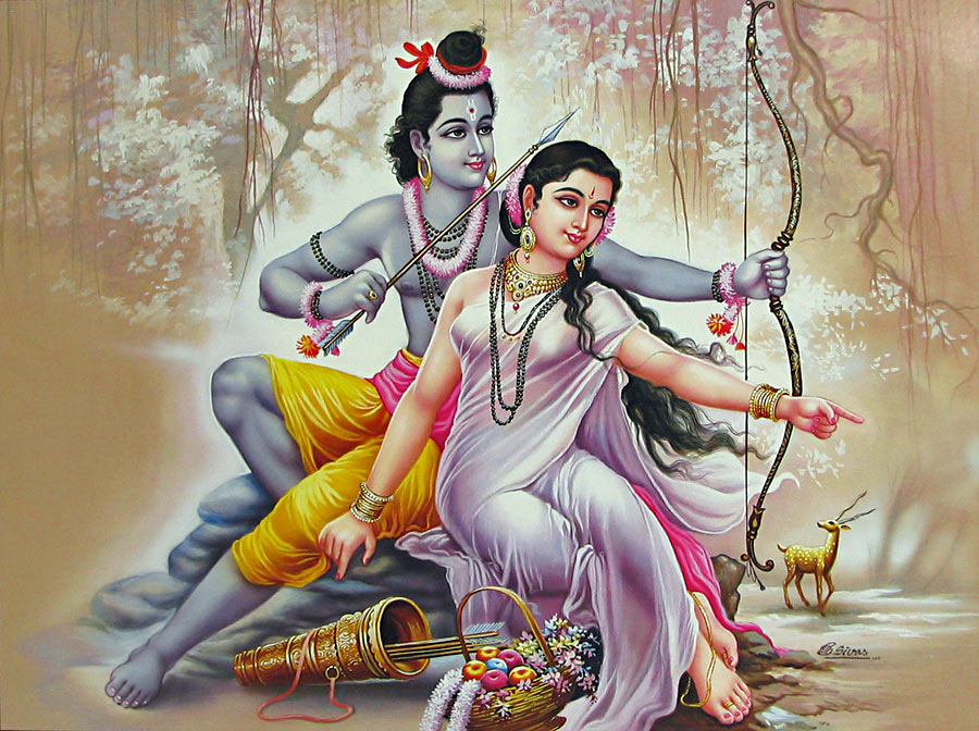 Lord rama sita wallpaper