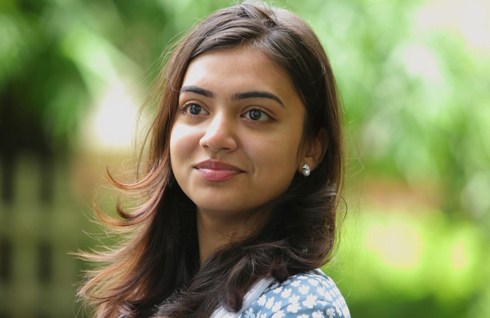 Nazriya nazim face wallpaper