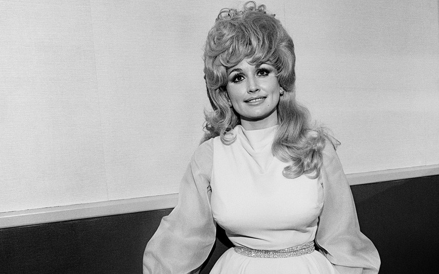 Dolly parton black and white pictures
