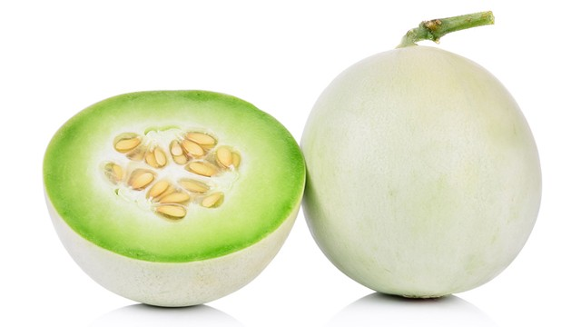 Half honeydew melon photos