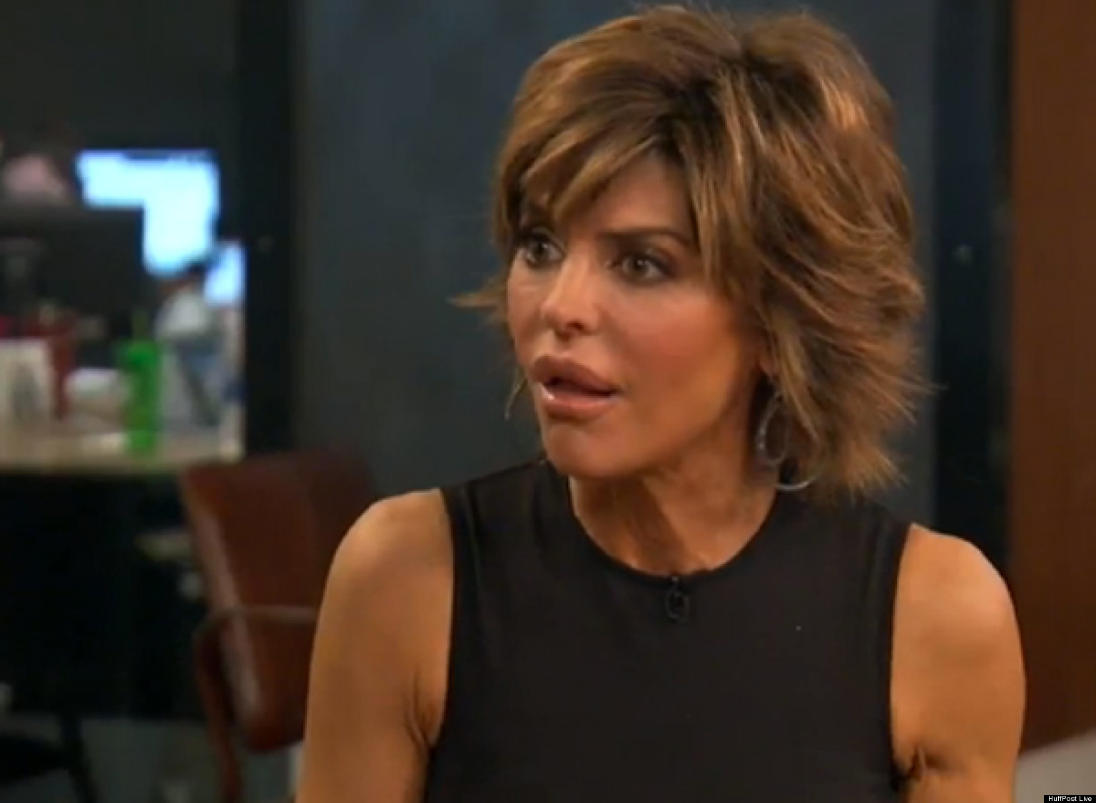 Lisa rinna cute face stills