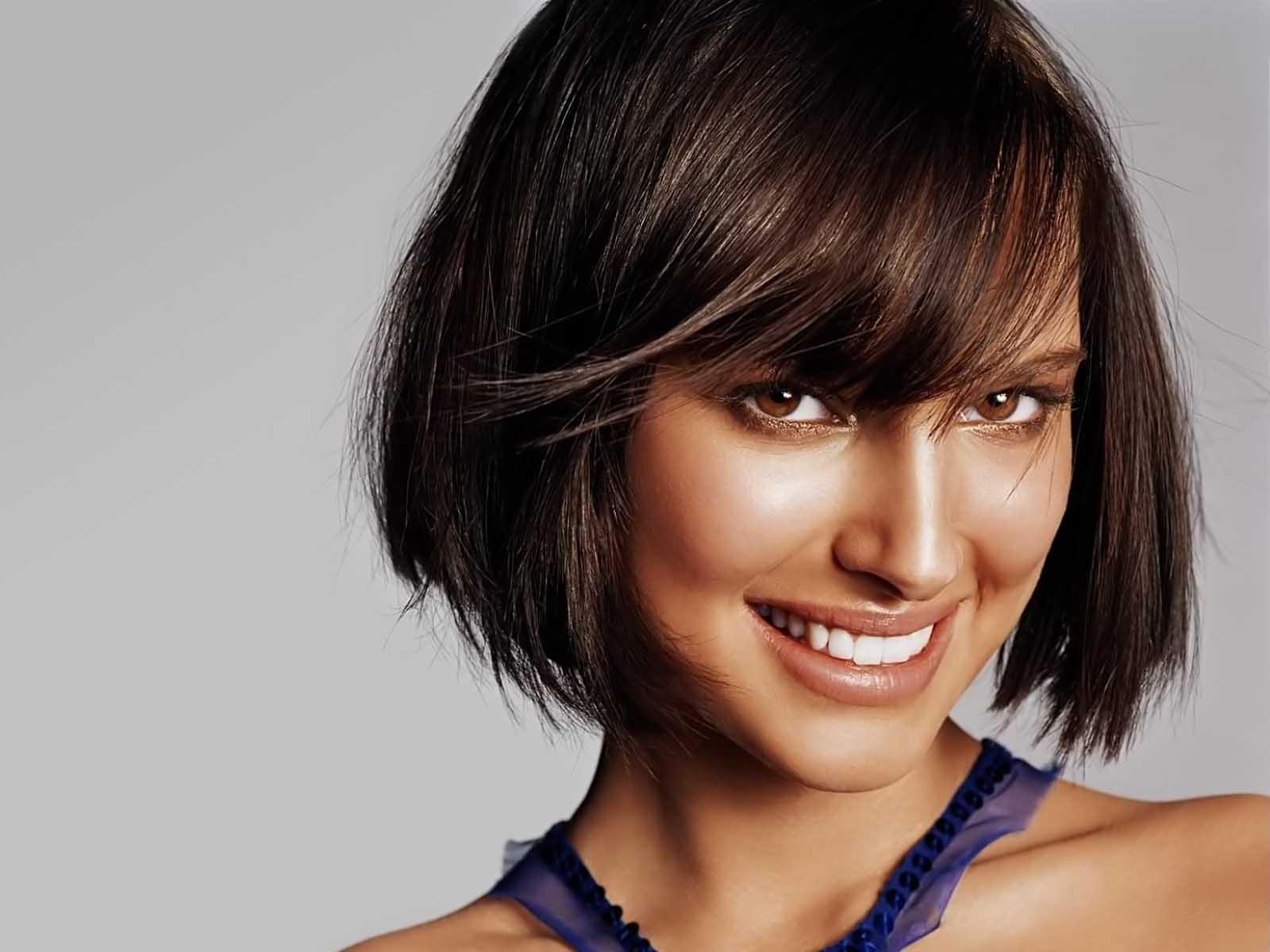 Natalie portman cute hair cut