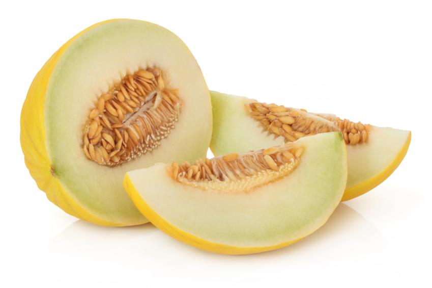 Yellow honeydew melon photos