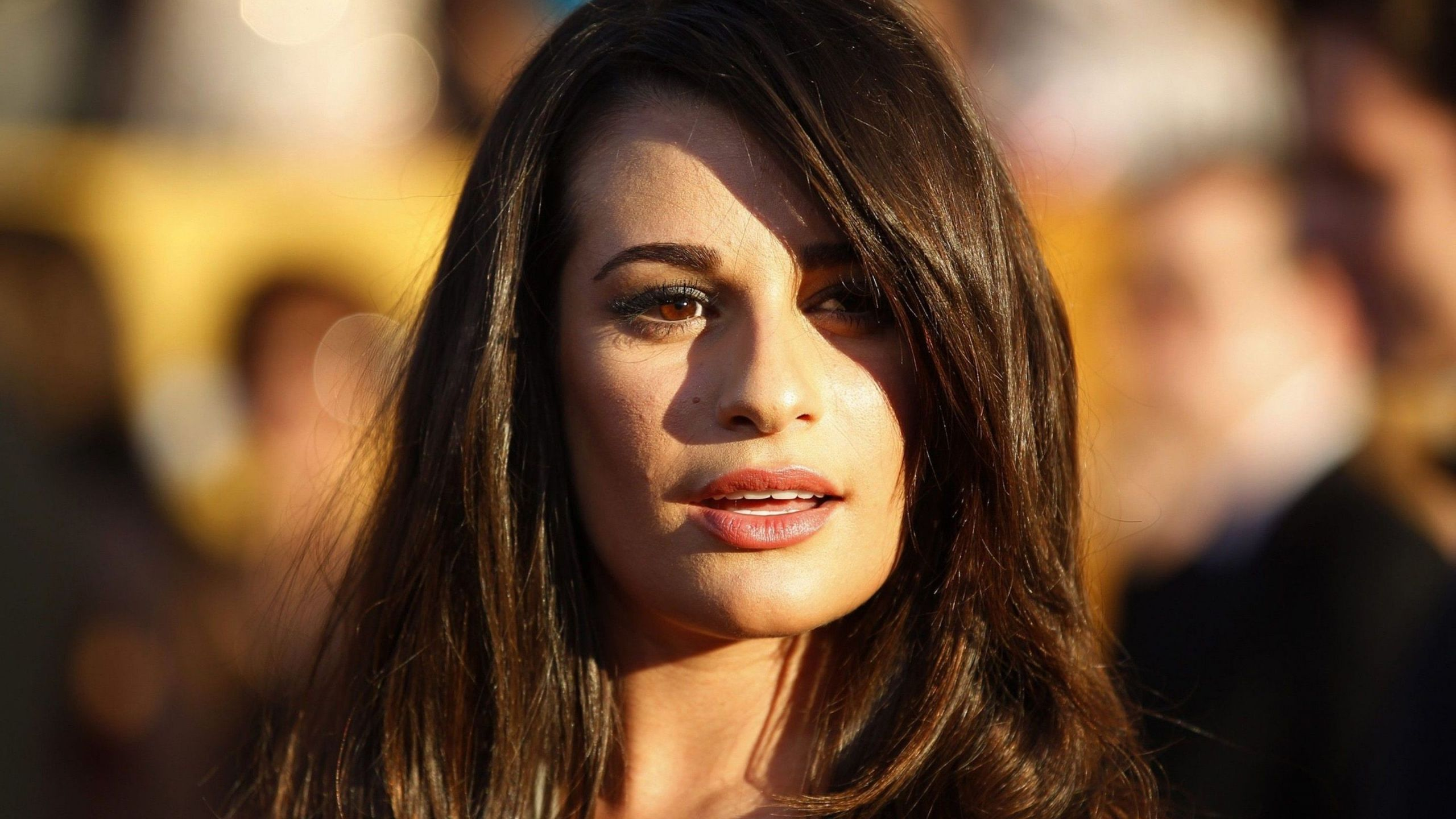 Lea michele cute face stills