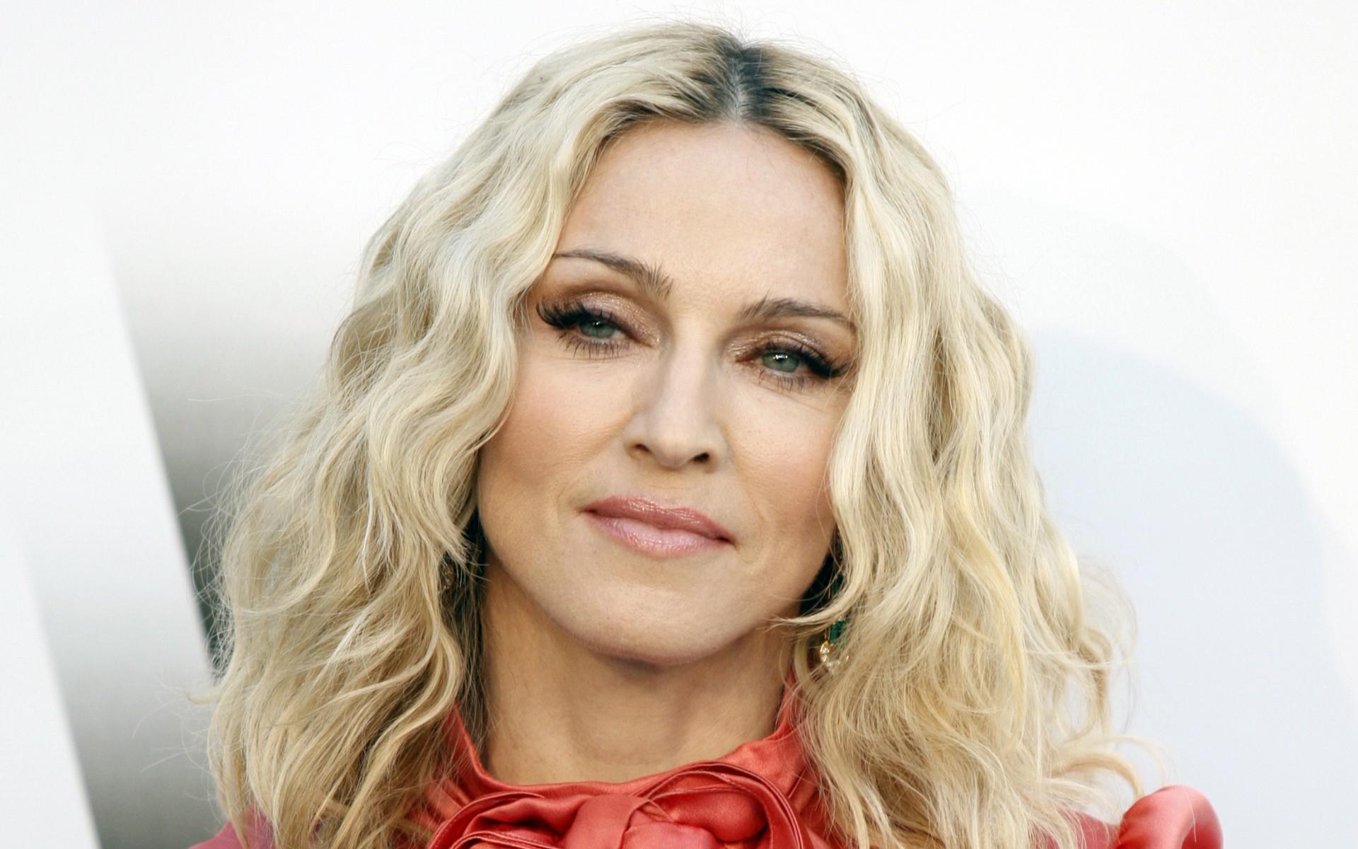 Madonna cute face stills