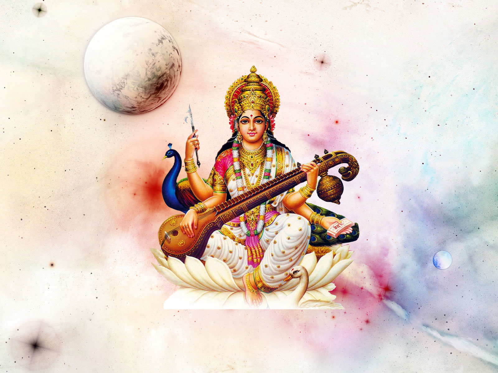 Saraswati god pictures