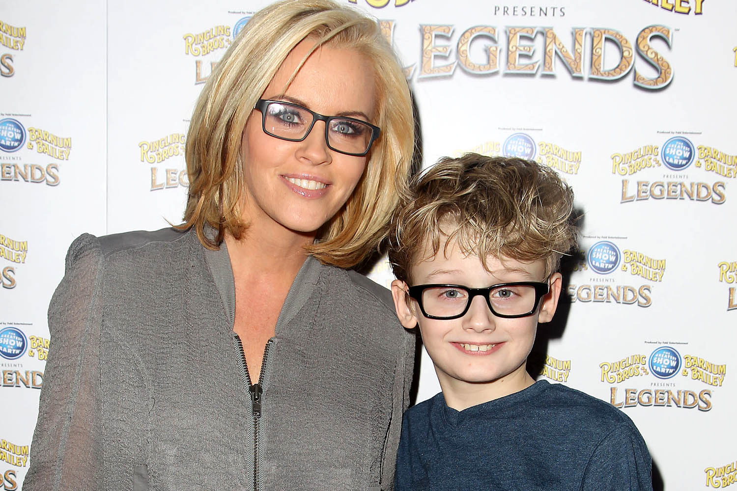 Actress jenny mccarthy and evan joseph asher son