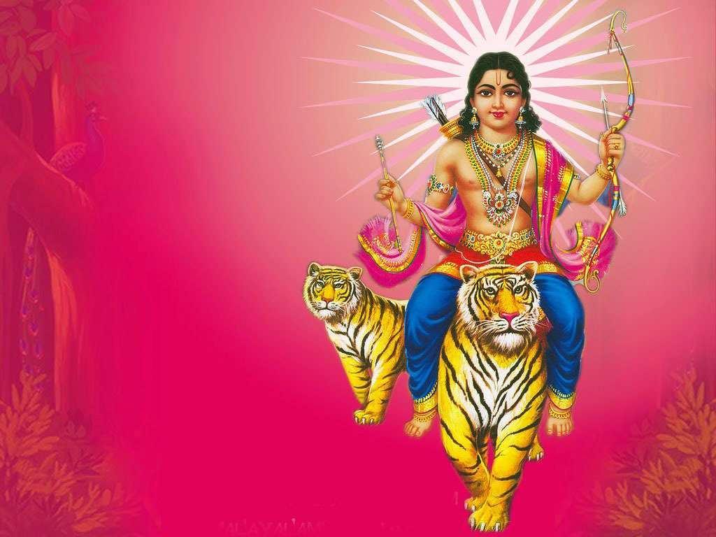 God ayyappa swamy puli wallpaper