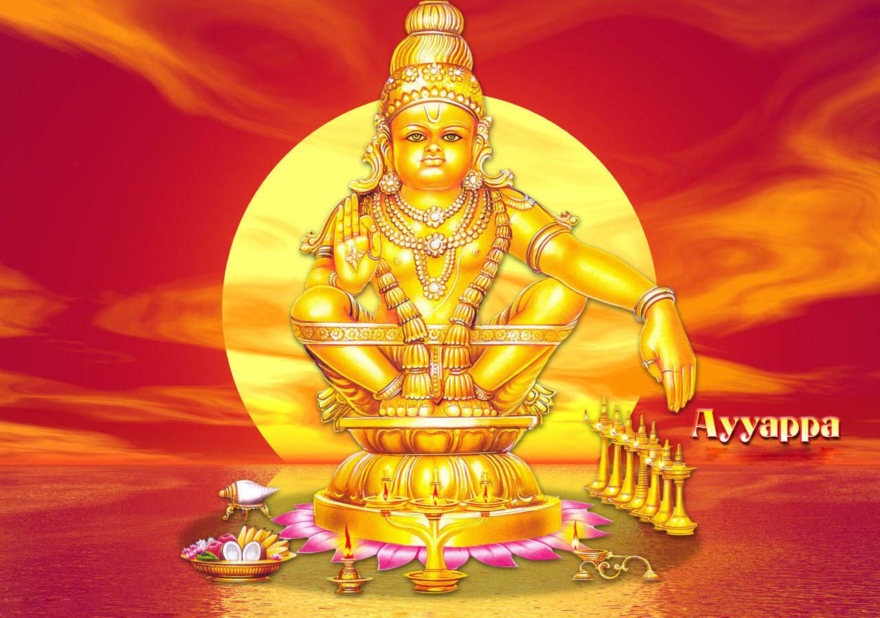 Kerala sabarimala ayyappa swamy wallaper