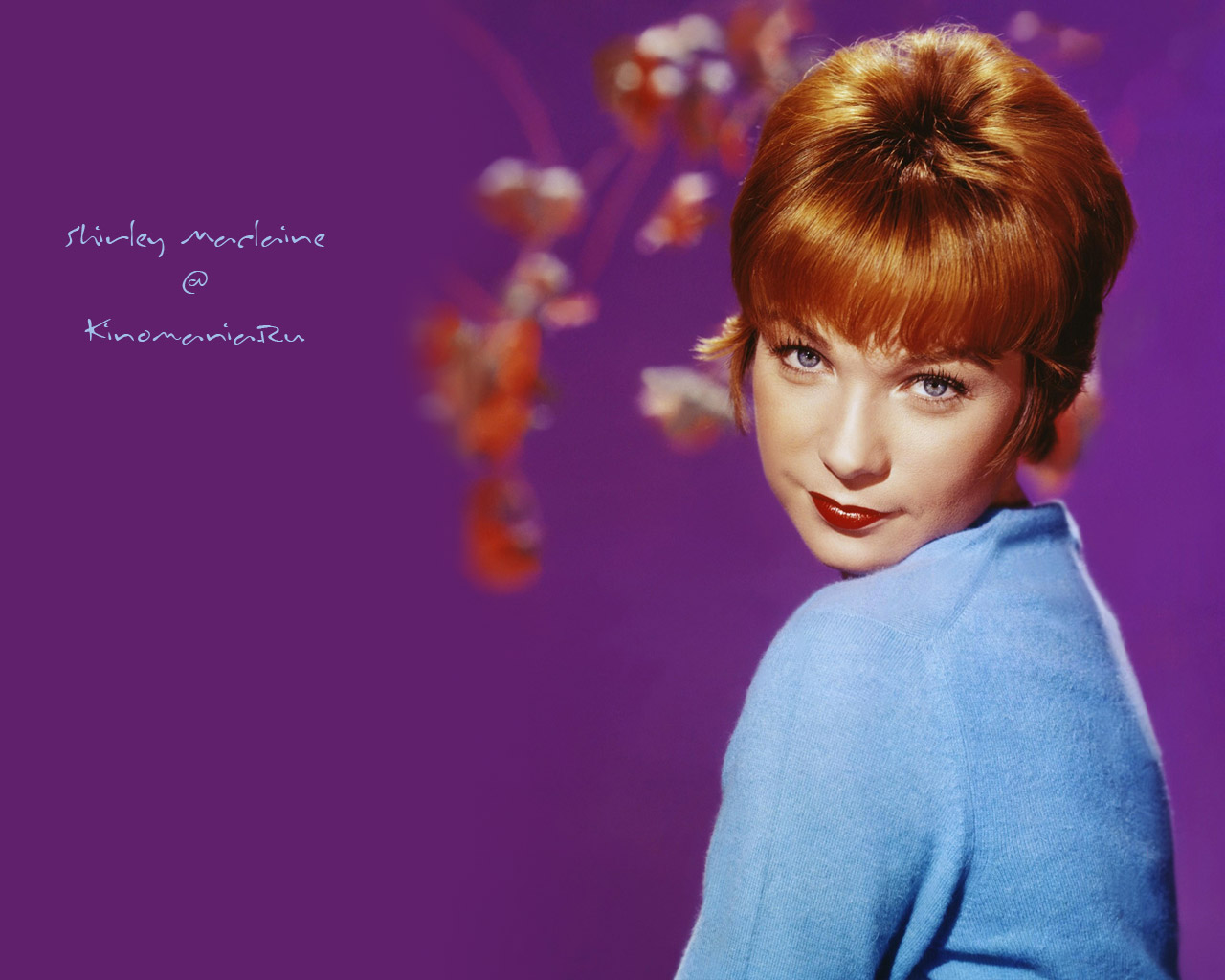 Shirley maclaine american actress wallpaper