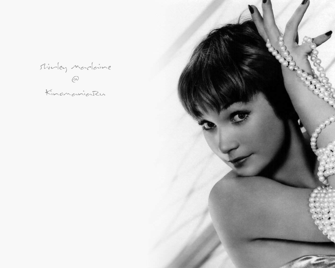 Shirley maclaine black and white pictures