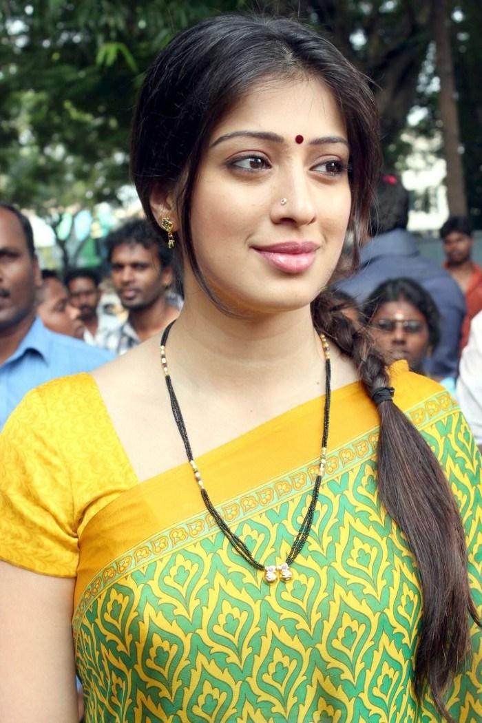 Tamil actress laxmi rai light green saree photos