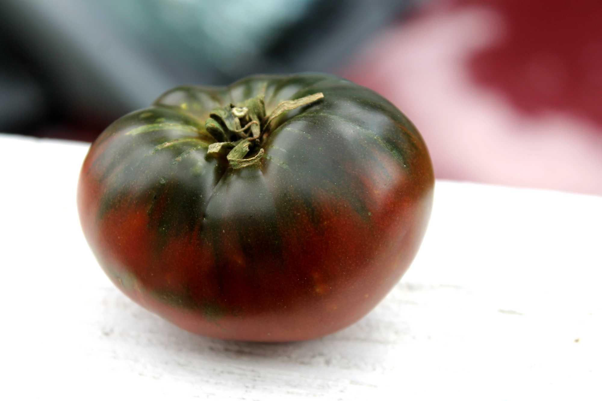 Black tomatoes photos