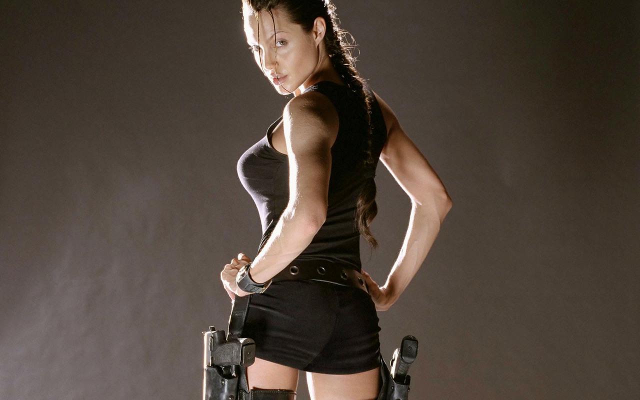 Angelina jolie black dress stills wallpaper