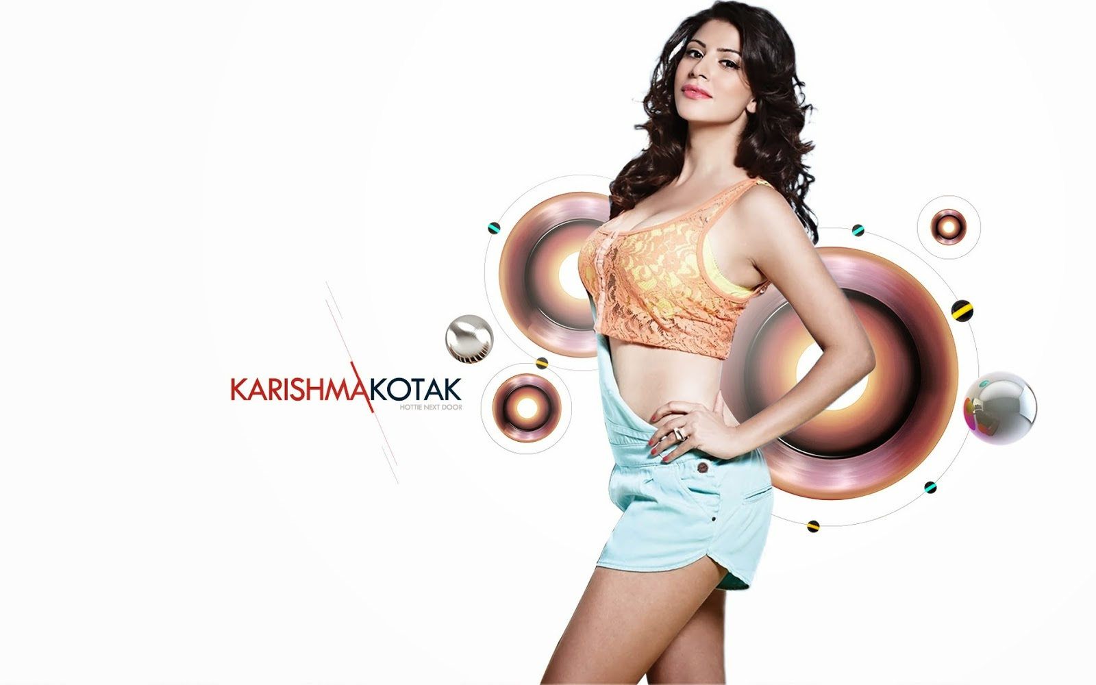 Actress karishma kotak wallpaper