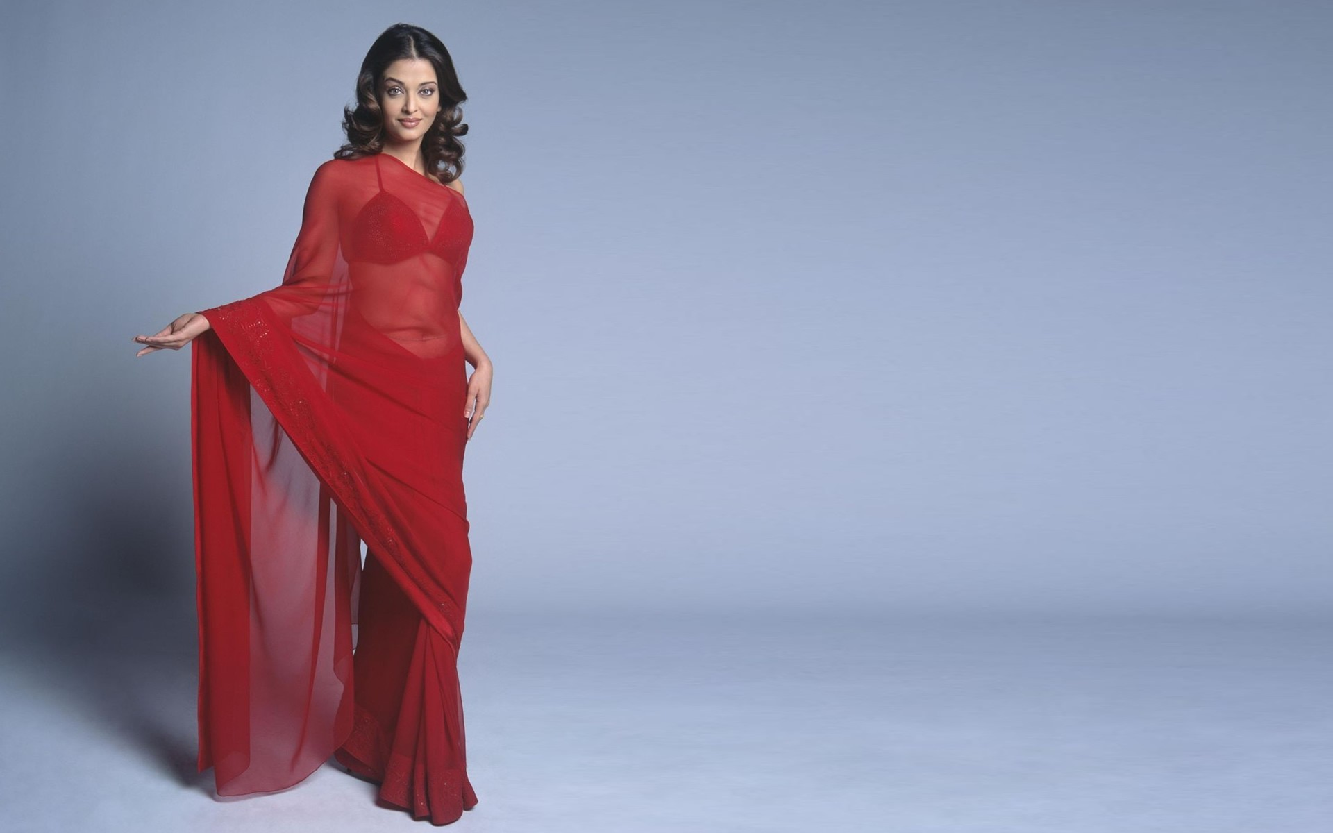 Aishwarya rai red saree bollywood actress photos