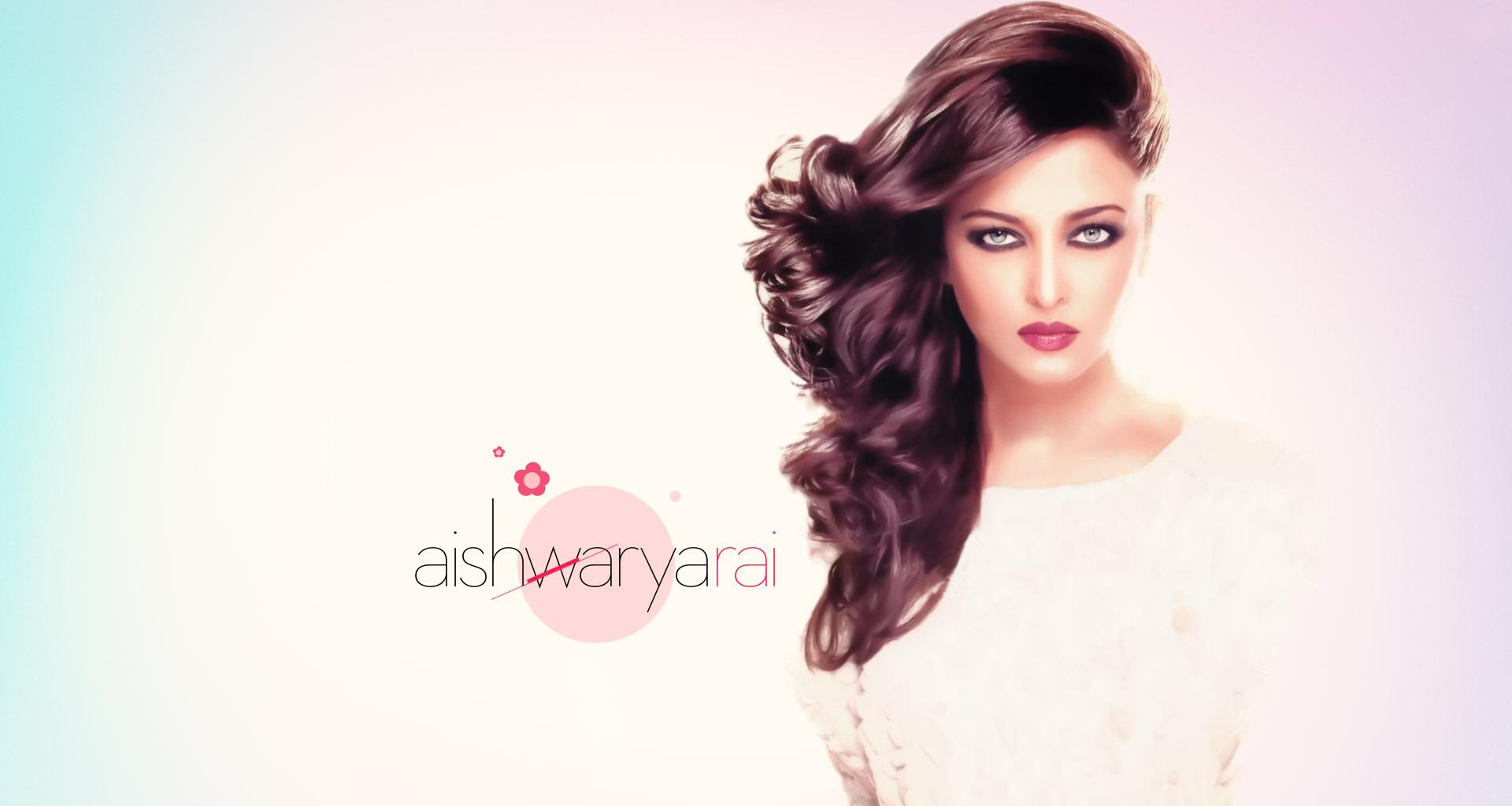 Aishwarya rai white dress wallpaper