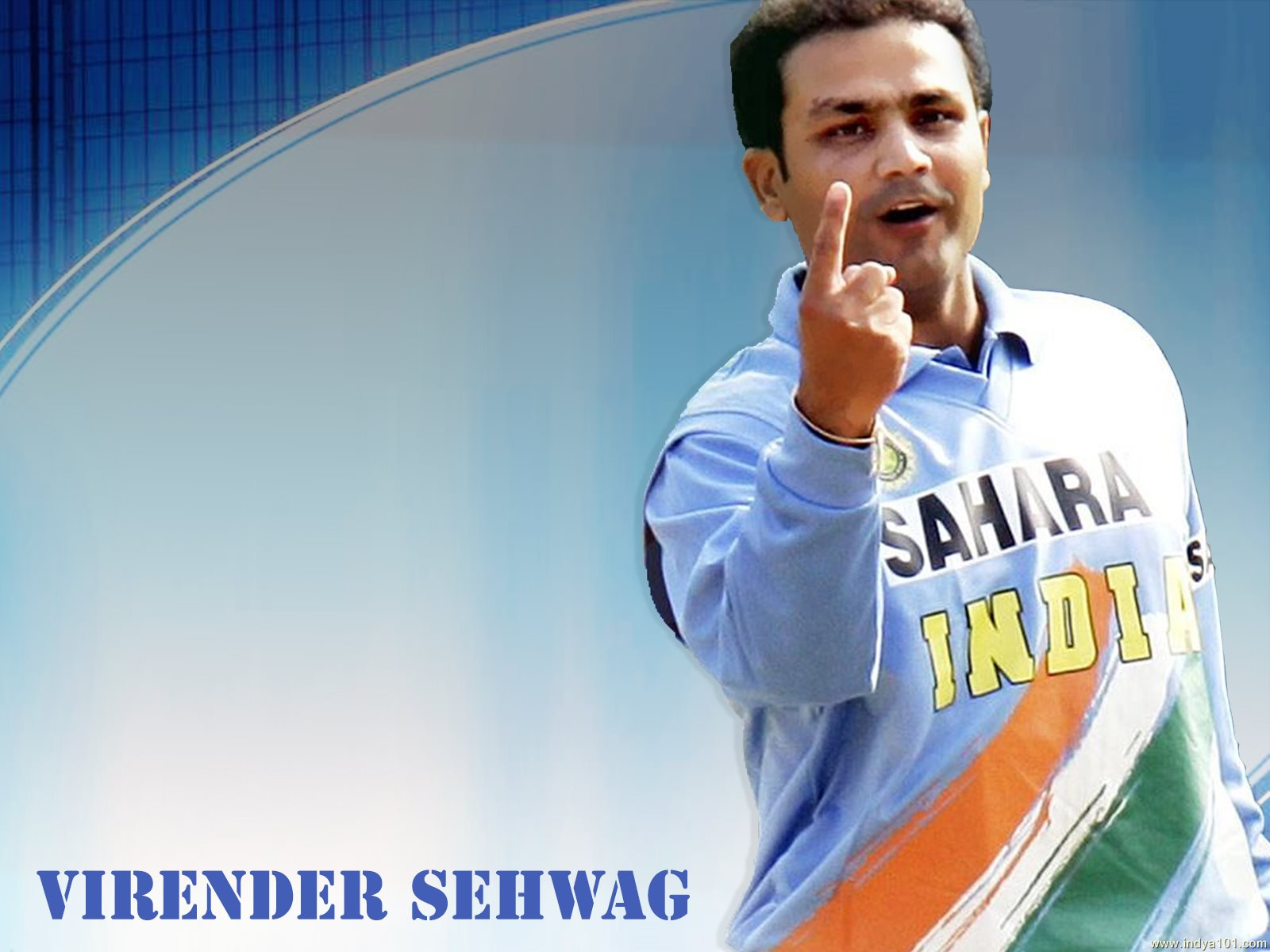 Indian cricketer virender sehwag pictures