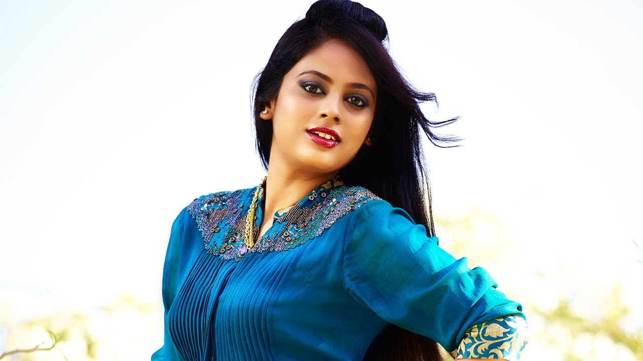 Nandita swetha blue dress pictures