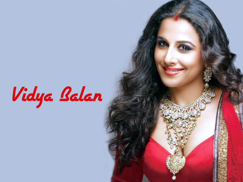 Vidya balan red dress wallpaper