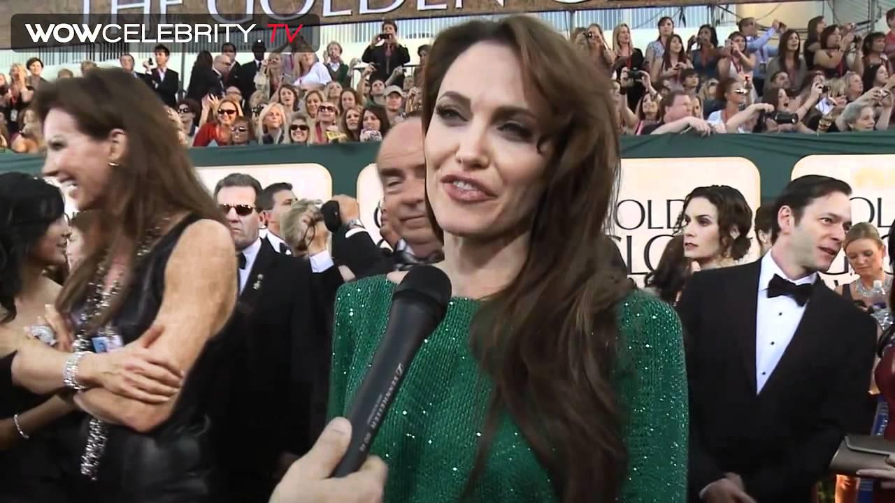 Angelina jolie actress green dress photos