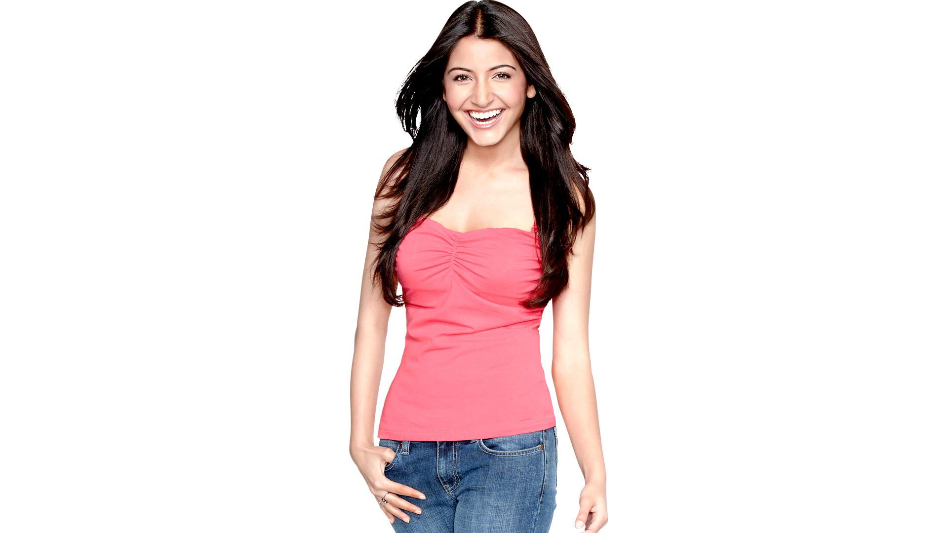 Anushka sharma pink dress wallpaper