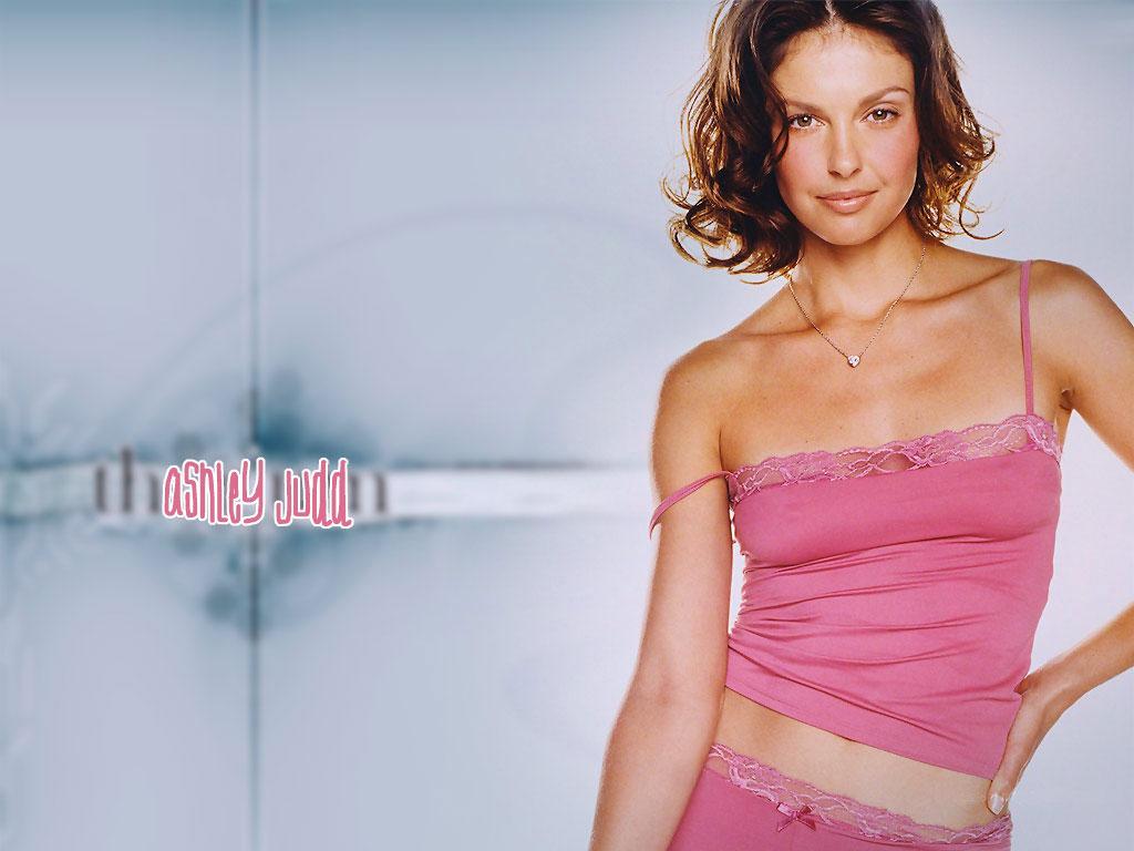 Ashley judd pink dress wallpaper