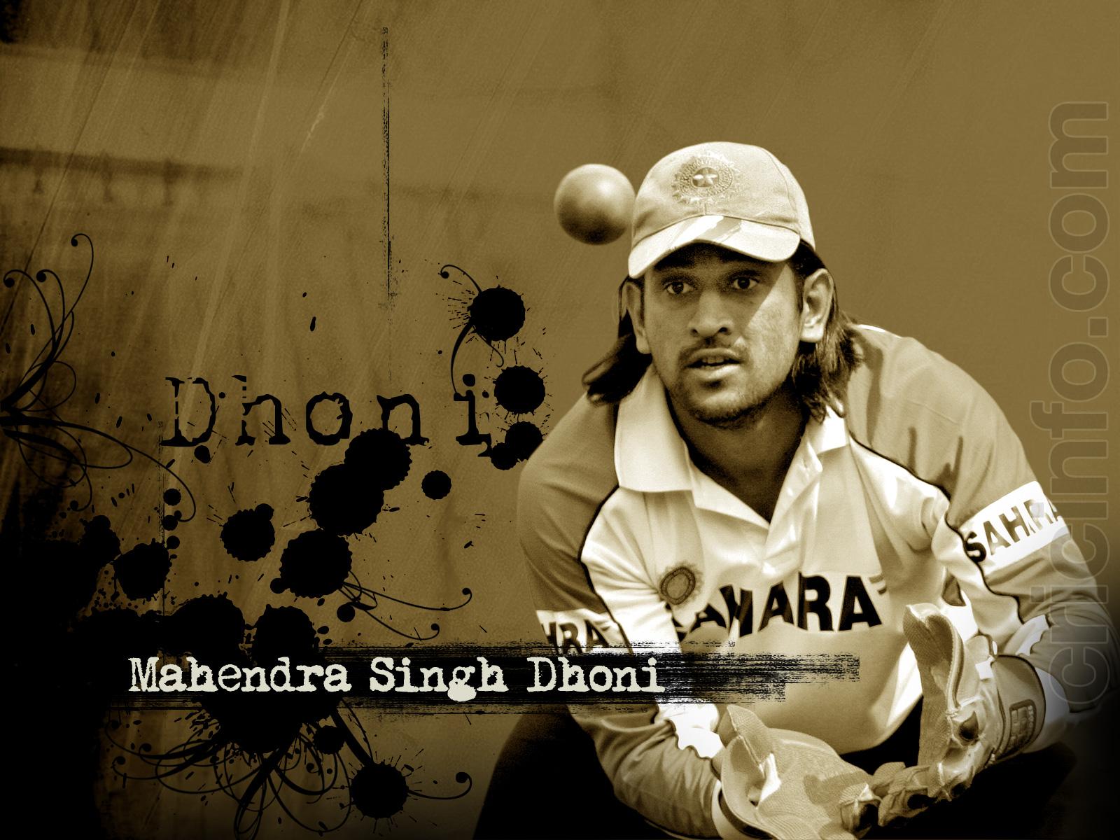 Ms dhoni wallpaper