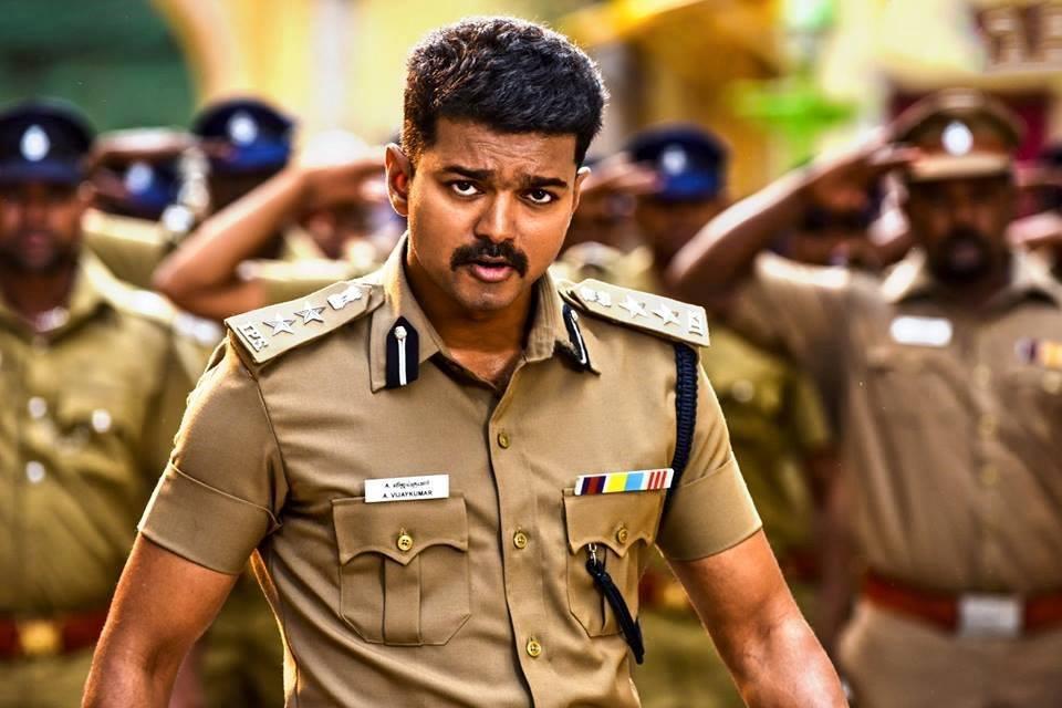 Theri vijay police dress pics