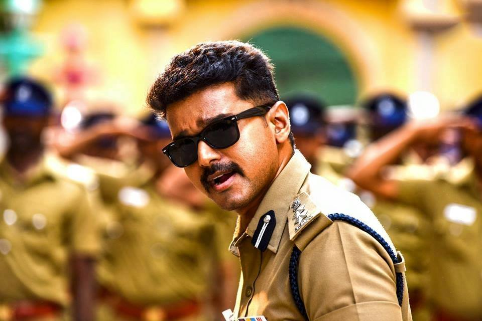 Theri vijay police dress pictures