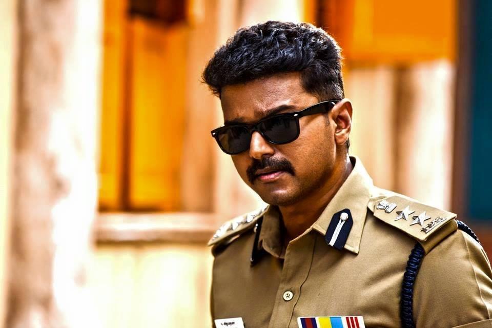 Theri vijay police dress stills
