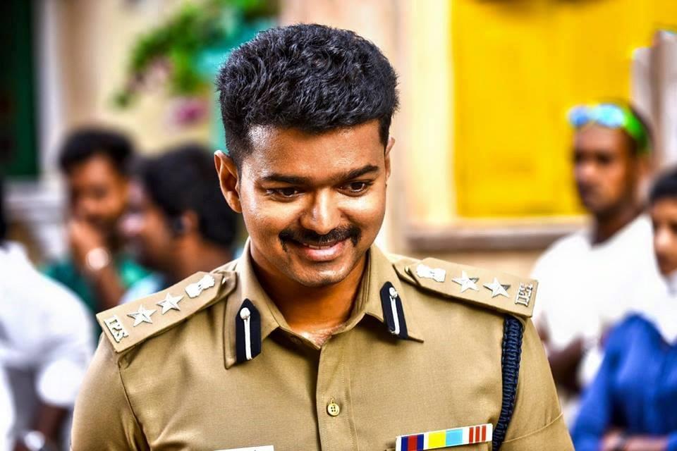 Theri vijay police dress wallpaper
