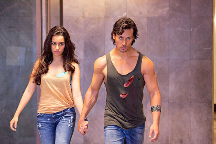 Baaghi movie tiger shroff shraddha kapoor combine pictures