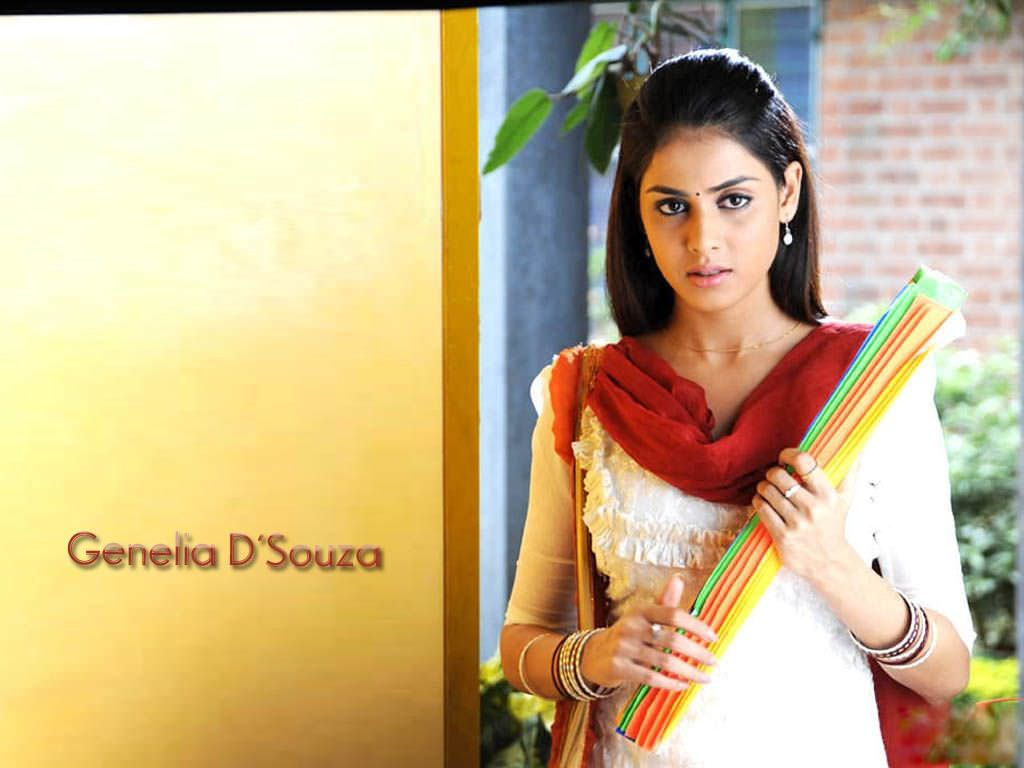 Genelia d souza actress wallpaper
