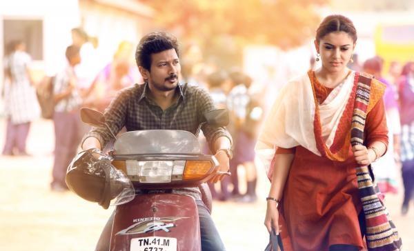 Manithan movie romance stills
