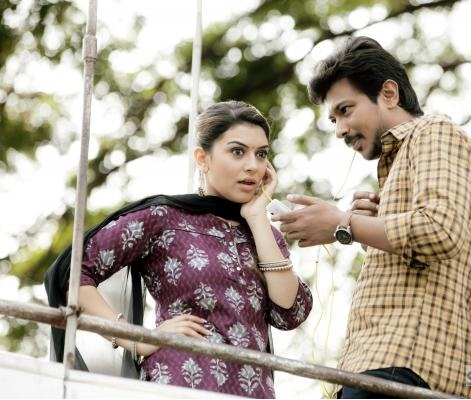 Manithan movie udhayanidhi stalin and heroin hansika motwani