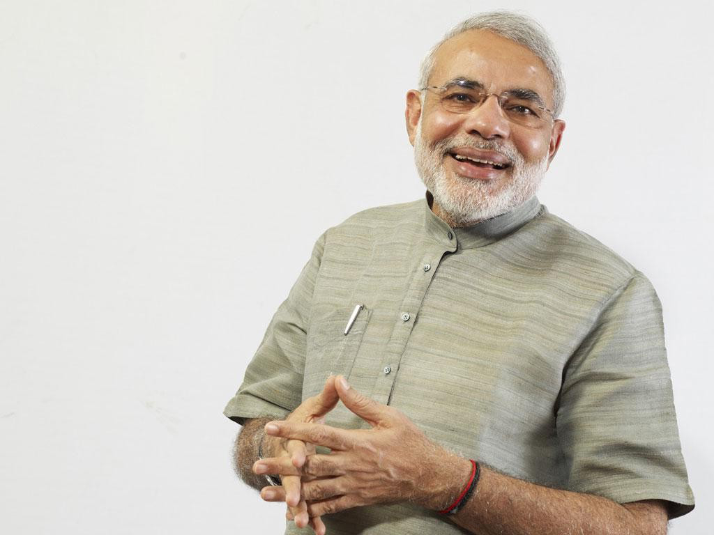 Narendra modi standing hd wallpaper