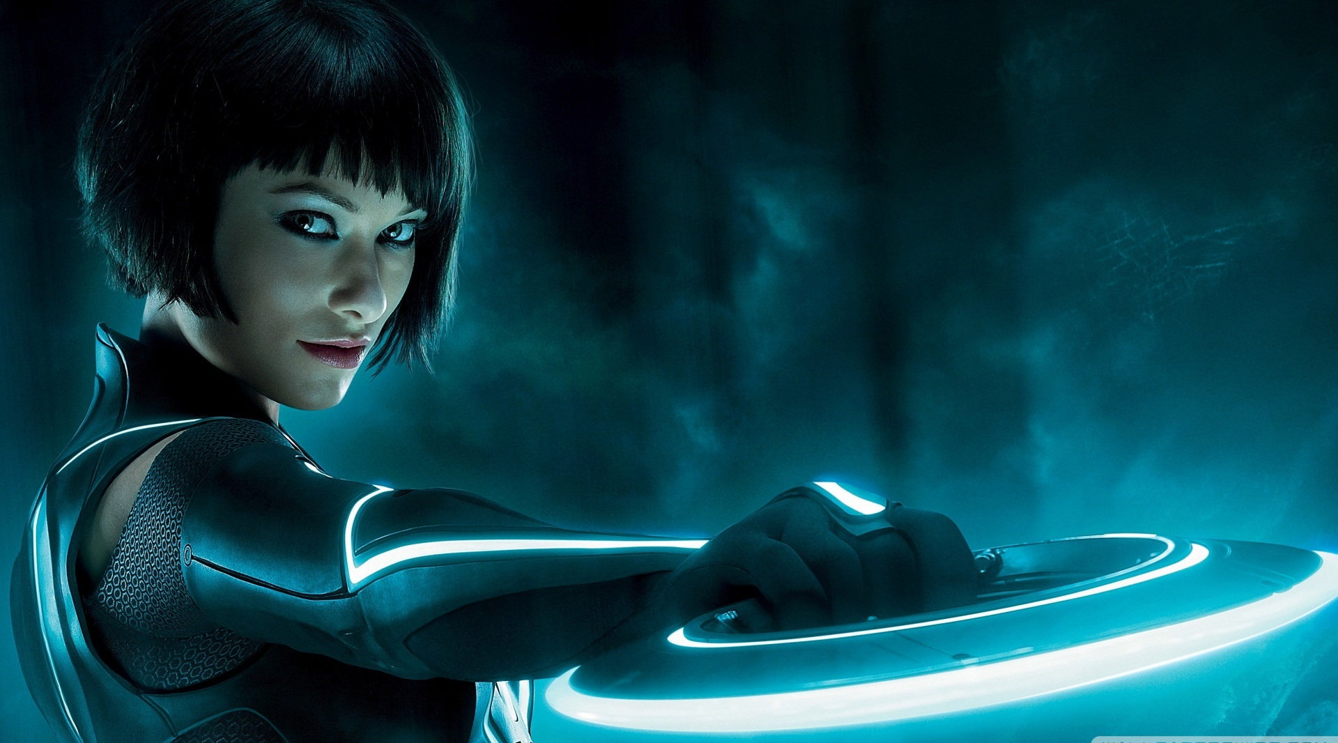 Olivia wilde tron movie hd photos