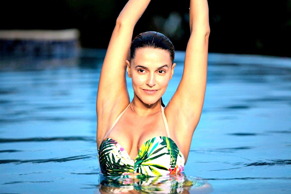 Santa banta pvt ltd film neha dhupia actress hot wallpaper