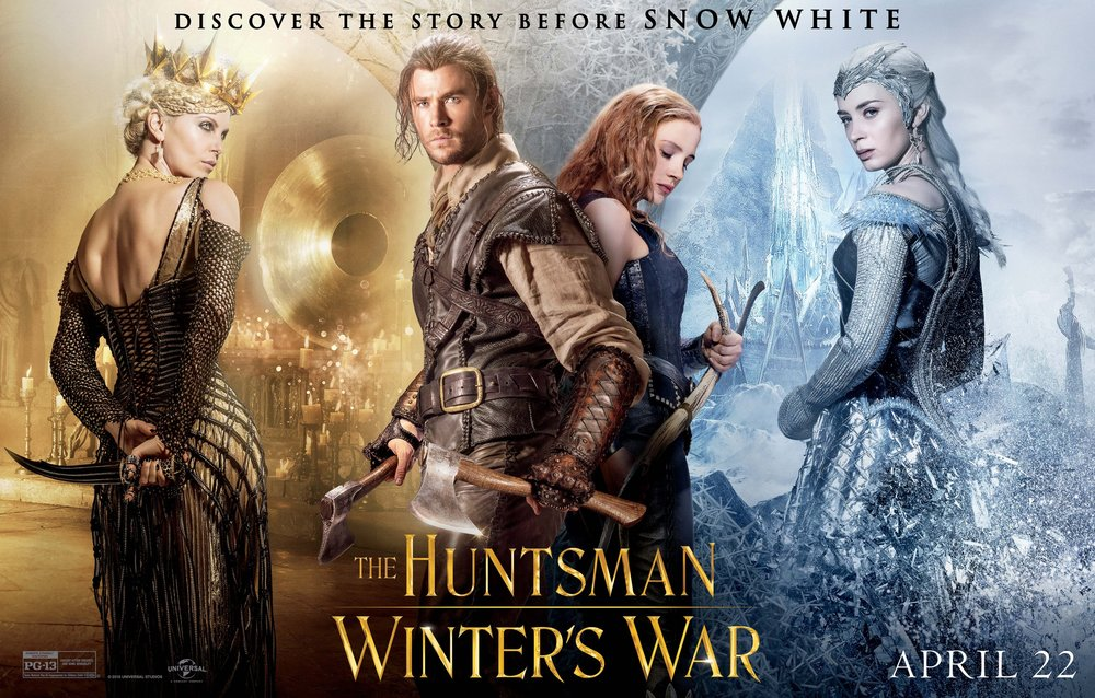 The huntsman winters war movie photos