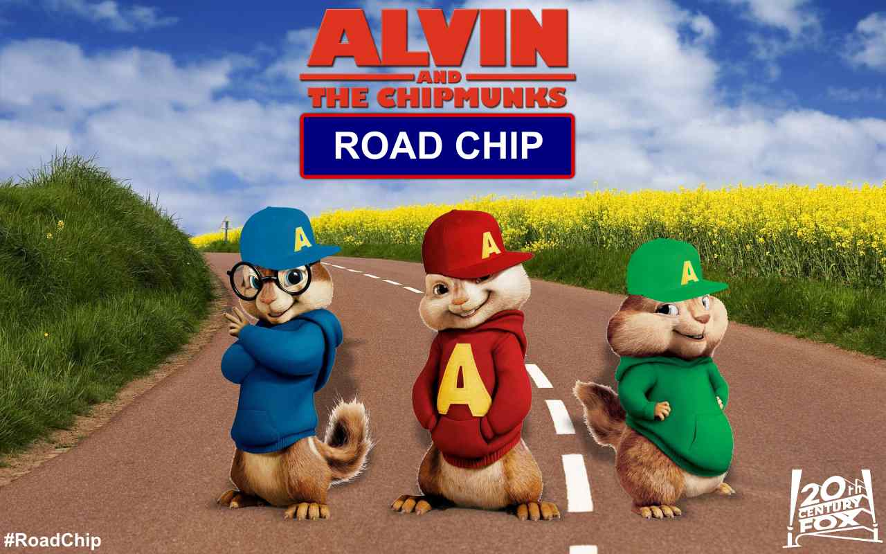 Alvin and the chipmunks road chip movie wallpaper