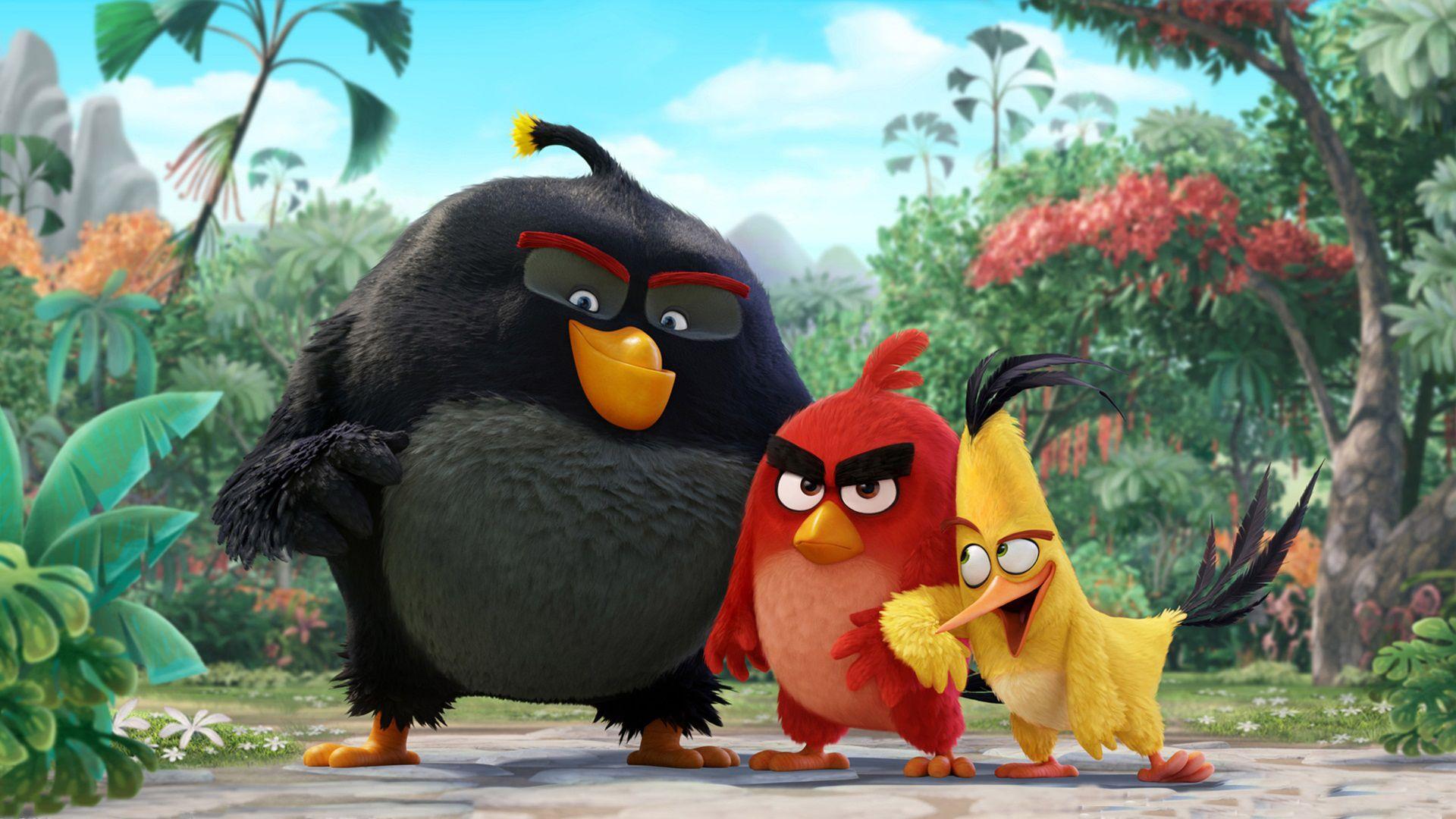 Angry birds movie trailer photos