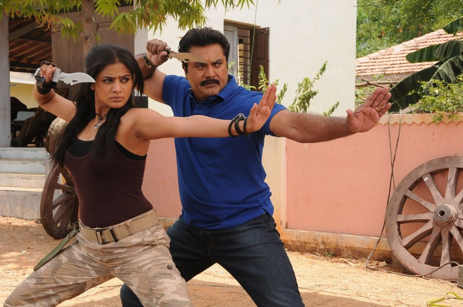 Anjatha chandi movie priyamani and sarath kumar photos