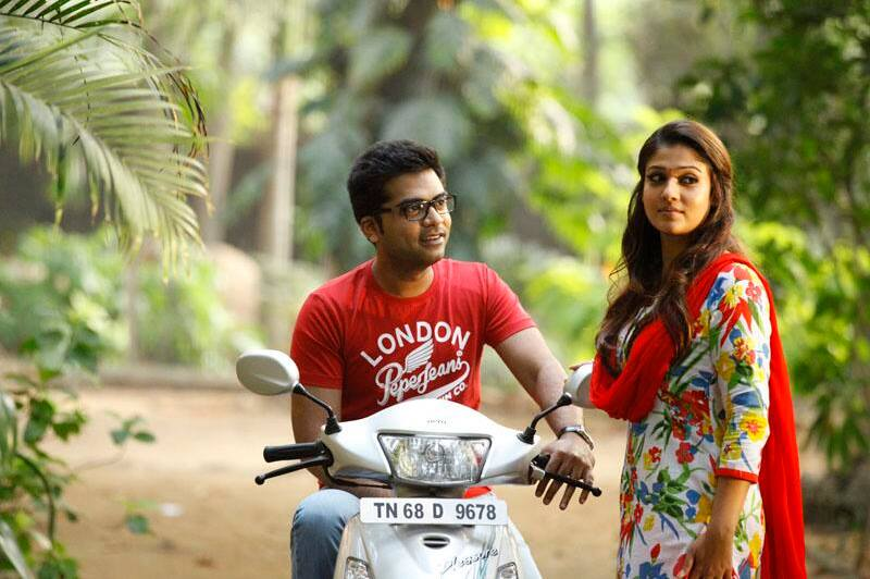 Idhu namma aalu film simbu nayantara red dress photos