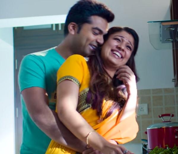 Idhu namma aalu film simbu nayantara romance photos