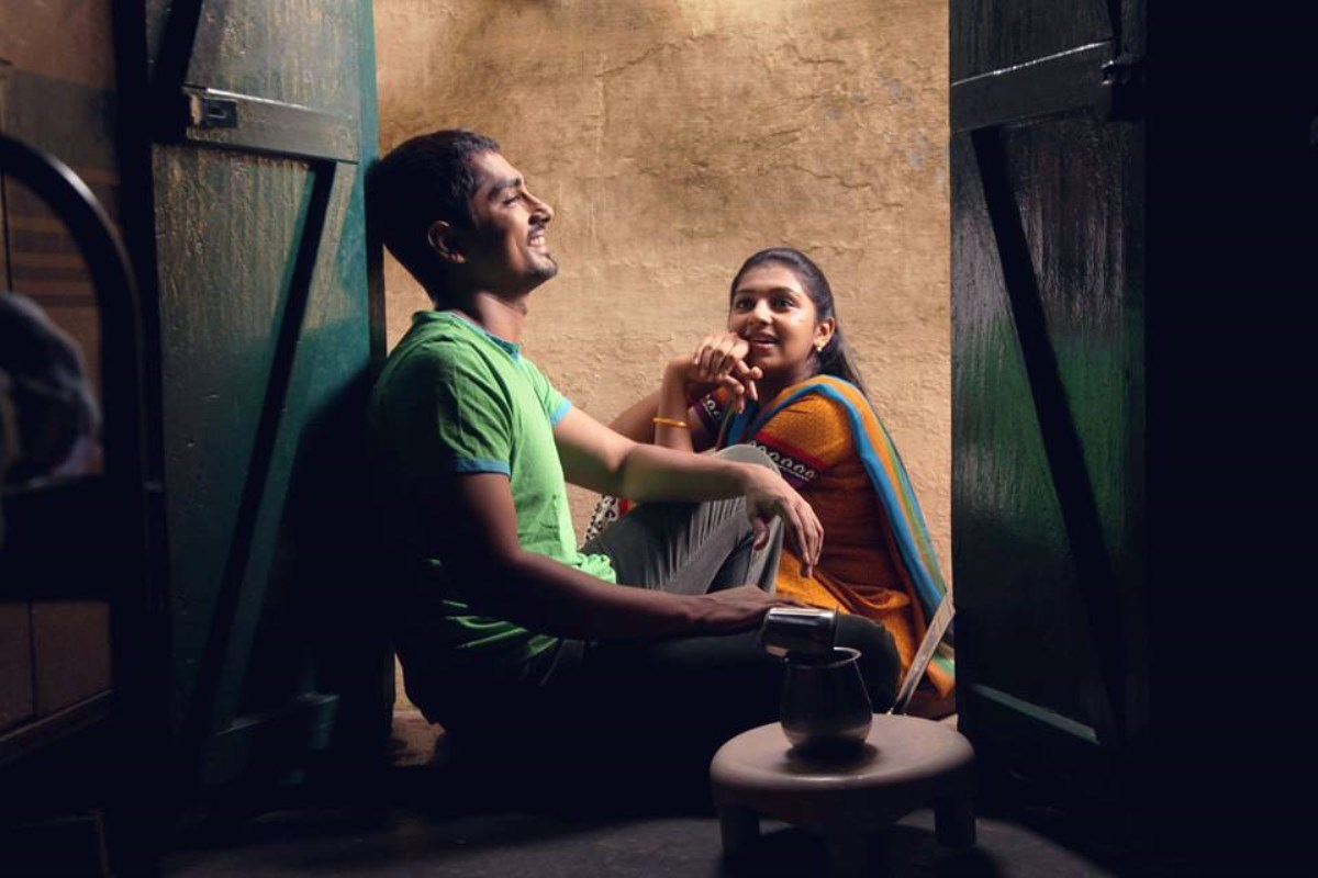 Jigarthanda movie siddharth and lakshmi menon stills