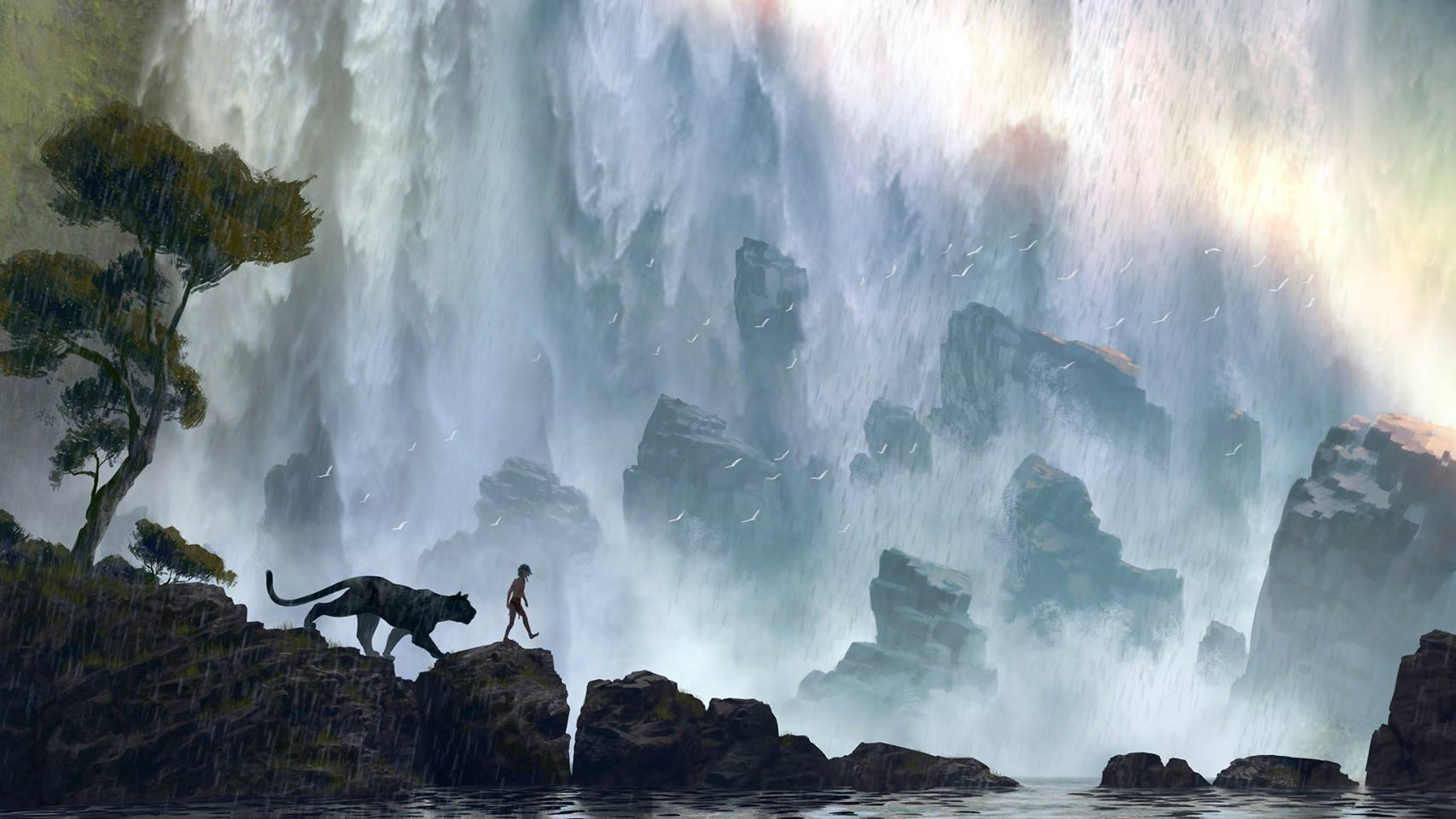 Jungle book movie wallpaper
